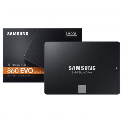 """SAMSUNG 860 EVO 250GB 2.5"""" SOLID STATE DRIVES"""